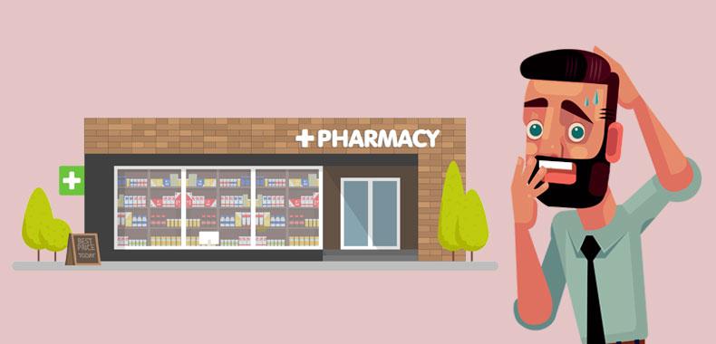 Online apotek pinlig